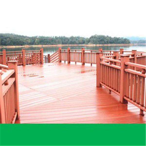 塑木圍欄棧道